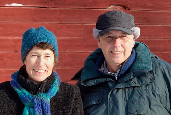 Peter & Judy Haase from Buffalo Horn Ranch